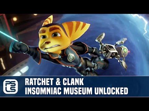 Ratchet & Clank PS4 - Secret Insomniac Museum, All Doors Unlocked
