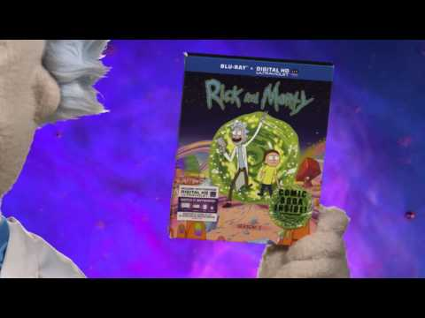 Rick and Morty: The Complete First Season - Own it today on Blu-ray and DVD!