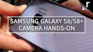 Samsung Galaxy S8 and S8 Plus camera hands on