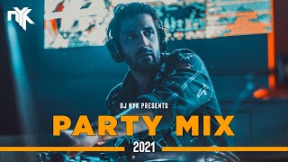 DJ NYK - New Year 2021 Party Mix | Yearmix | Non Stop Bollywood, Punjabi, English Remix Songs