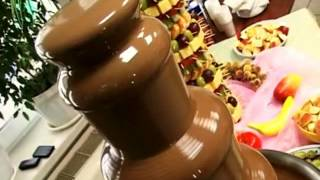 шоколадный фонтан.шоколадный фонтан на свадьбу.(, 2013-10-17T08:37:52.000Z)