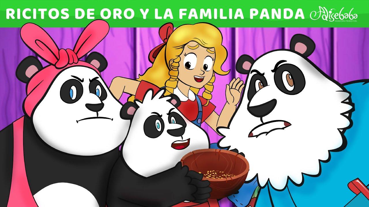 Ricitos de Oro y La Familia Panda | Cuentos infantiles para dormir en Español