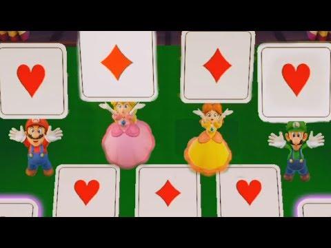 Super Mario Party - Mario vs Peach vs Daisy vs Luigi  Cartoons Mee