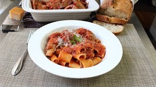 Meat Sauce Recipe - Pasta Sauce - Sunday Sauce - Red Sauce
