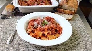 Meat Sauce Recipe - Pasta Sauce - Sunday Sauce - Red Sauce