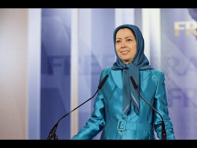 Maryam Radjavi au grand rassemblement pour un Iran libre – Villepinte 1 juillet 2017