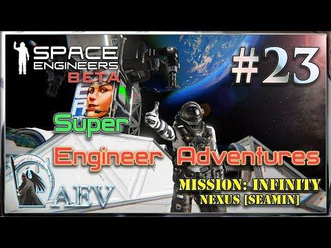Space Engineers ► Super Engineer Adventures►ч.23 -  База торговцев!