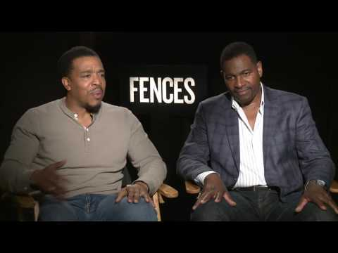 Fences: Russell Hornby & Mykelti Williamson Exclusive Interview