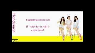 Perfume - 「Handyman」 English and Romaji Lyrics