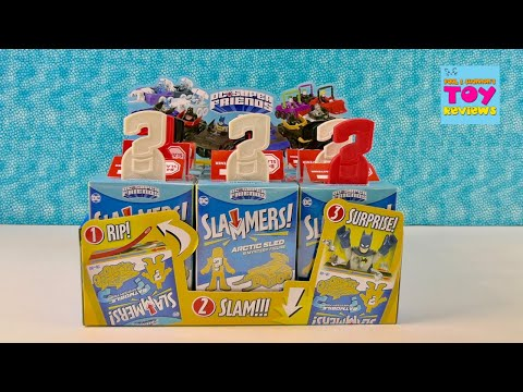 DC Super Friends Imaginext Slammers Blind Box Collectible Figures Unboxing | PSToyReviews