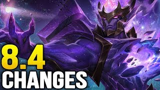 Big changes coming soon in Patch 8.4 (League of Legends)