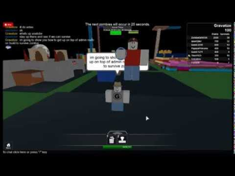 how to get the admin bar up in roblox