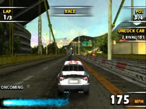 Paradise Peril Gold Medals - Burnout Legends (PSP) by The Adequate Gamer