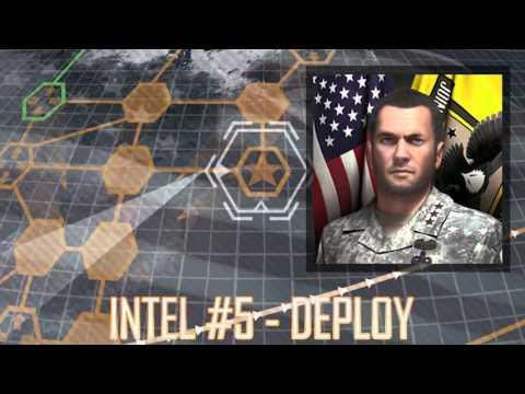 Tom Clancy's: EndWar - Voice Overs - American General (Map) Quotes (Steve Blum)