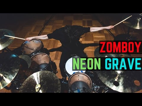 Zomboy - Neon Grave Remixes  Matt McGuire Drum Cover