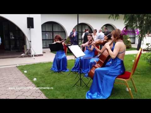 Primirea invitatilor - nunta (Clubul Diplomatic)