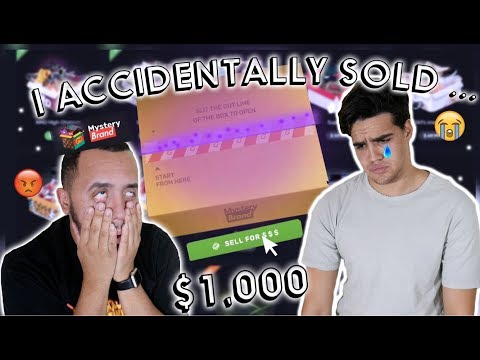 MYSTERY BRAND!? OPENING $1,000 WORTH OF ONLINE HYPEBEAST MYSTERY BOXES!! (PART 2)