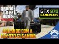 JOGANDO GTA V PC COM A GTX 970 G1 GAMING!