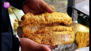 Street Food Tour Amritsar - Street Food India - Mutton Chaap,Keema Kaleji, Makhaan Fish - Food Vlog