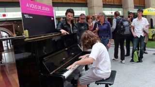 Classics at Gare Saint-Lazare by Nikolay Marinov - part 1