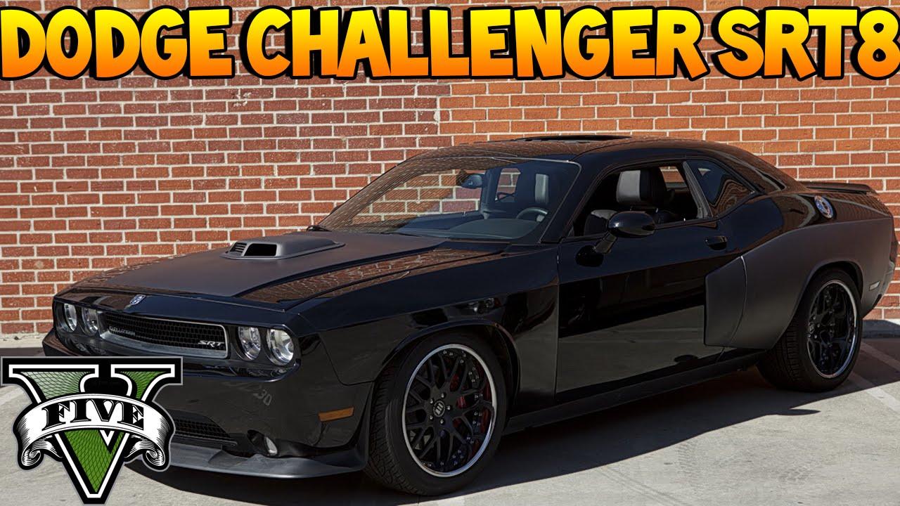 Gta V Dodge Challenger Srt8 Fast And Furious 5 Vin Diesel