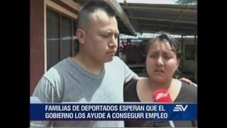 Ecuatorianos deportados