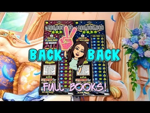 Two FULL Back-to-Back Books of $500,000,000 Cash!