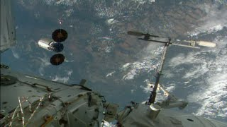 U.S. Cargo Ship Leaves Space Station
