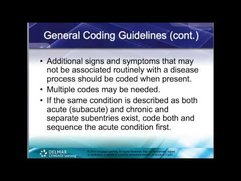 Chapter Five Diagnostic Coding Guidelines