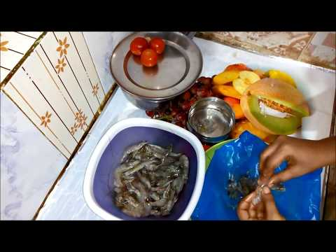 How to Clean Prawns In Tamil|Prawn Cleaning Method For Beginners In Tamil