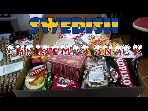 Swedish Christmas snack unboxing スウェーデンのクリスマスおやつ開封