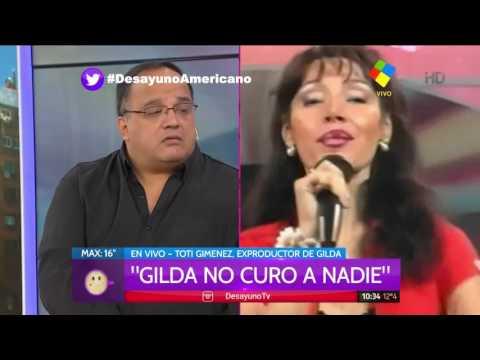 El exproductor de Gilda trató a la cantante de mentirosa