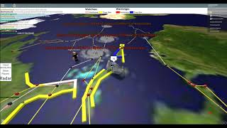 Lets Play: ROBLOX! - (More) Major Hurricane Outbreak on Manly's Hurricane Simulator (AGAIN!)