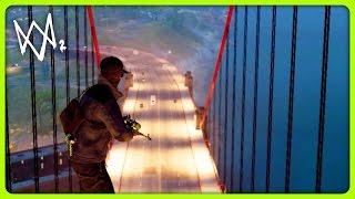 WATCH DOGS 2 FREE ROAM - SNIPING ON TOP OF THE GOLDEN GATE BRIDGE | #26 (Watch Dogs 2 Free Roam)