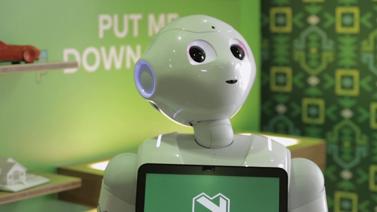 Hi, I'm Pepper' - first humanoid robot in SA gently
