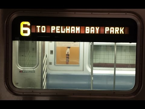 On Board Pelham Bay Park Bound R142A (6) Train From 125th Street to Pelham Bay Park