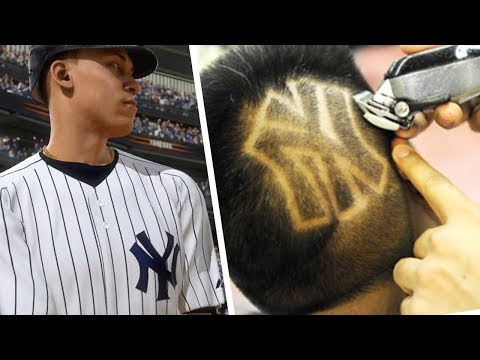 IF I LOSE I HAVE TO GET A YANKEES HAIR TATTOO! MLB The Show 18