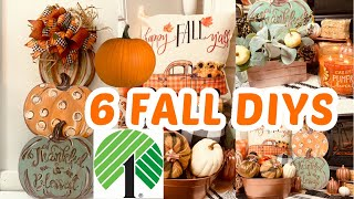 "🍁6 DIY DOLLAR TREE FALL ELEGANT HIGH END DECOR CRAFTS🍁"" I Love Fall"" ep 14 Olivias Romantic Home DIY"