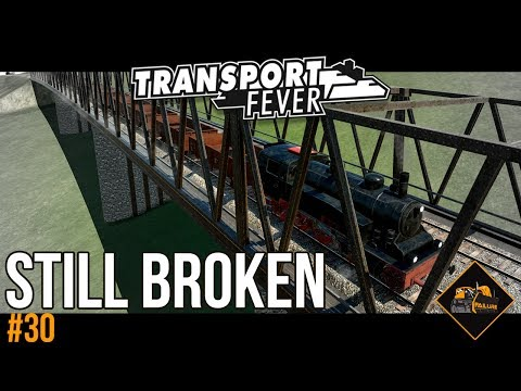 Continuing to fix broken lines | Transport Fever The Alps gameplay #30