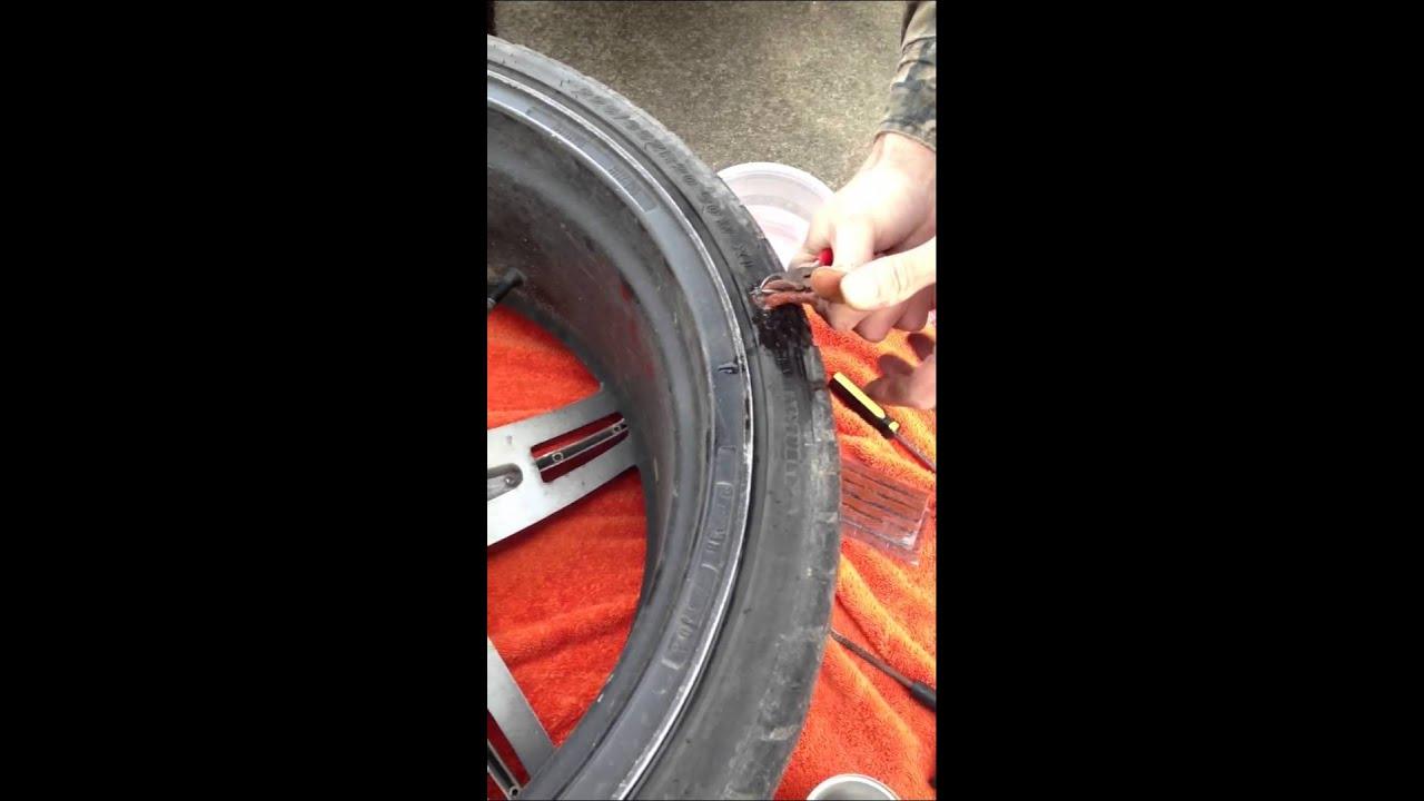 Sidewall Tire Repair Pt 1 Youtube