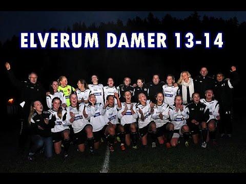 Elverum damer sesongen 13-14