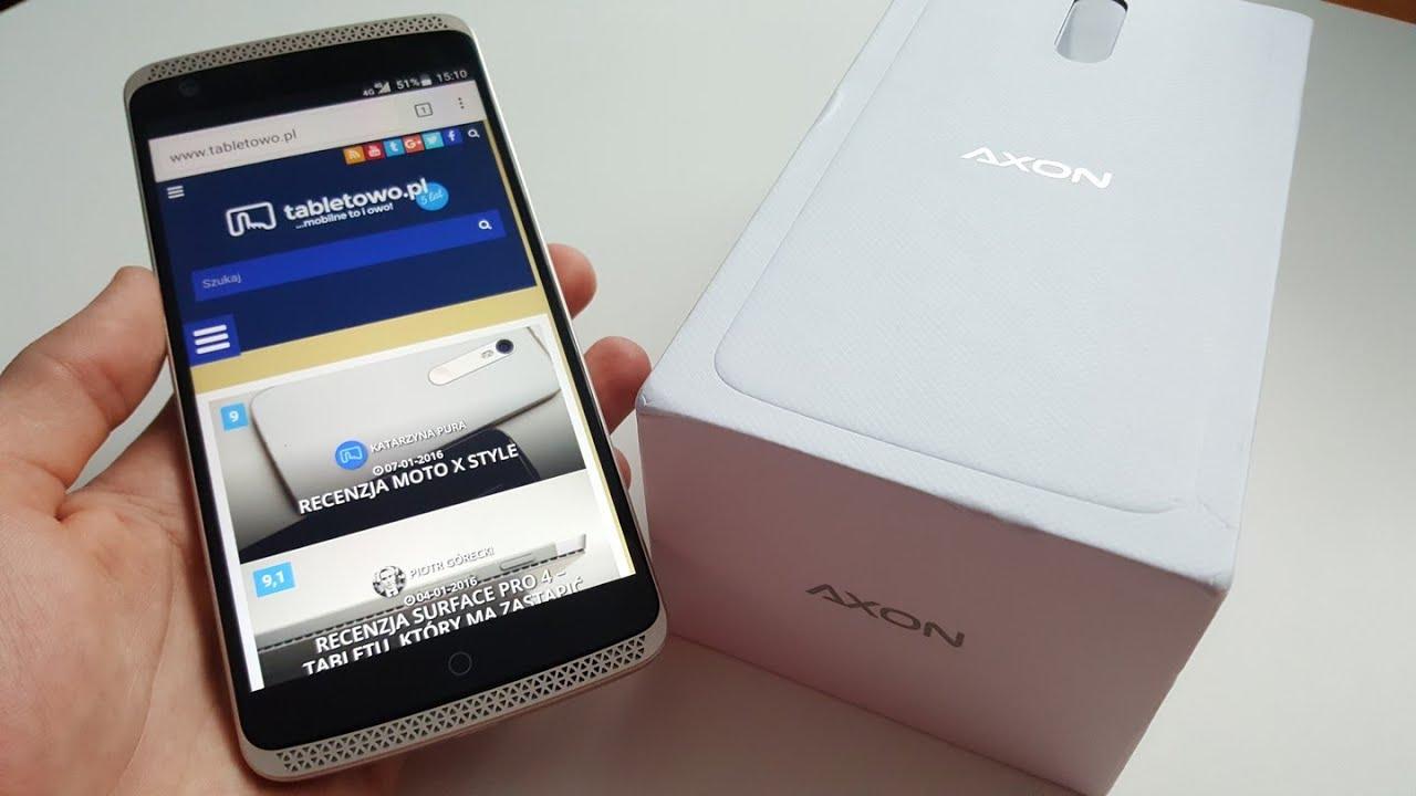 Recenzja ZTE Axon Elite - opinia, test Tabletowo pl