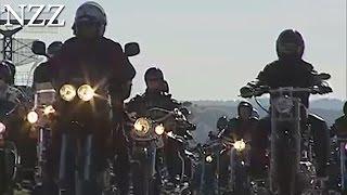 Harley Davidson auf dem Love Ride Switzerland - aus