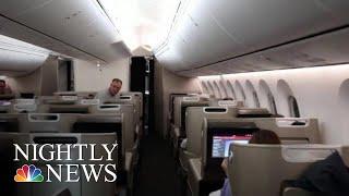 Qantas Completes Record-Breaking 19-Hour Marathon Flight | NBC Nightly News