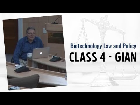 Biotechnology Law and Policy | Class 5 | GIAN | NALSAR University