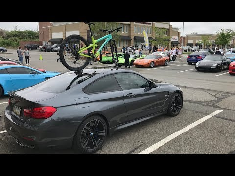 BMW M4+Trek+Seasucker=the COOLEST Mod At Cars And Coffee