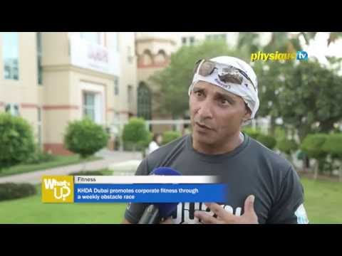 KHDA Dubai promotes corporate fitness through a weekly obstacle race