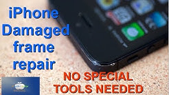 How to repair a damaged frame on all iPhones (iPhone 5 example)