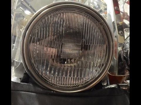 Installing a HID light on a Honda Shadow
