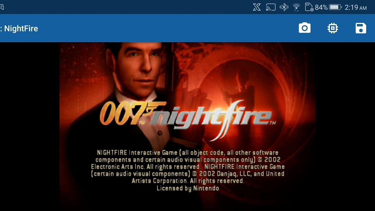 Dolphin Emulator (Stress Test #2) Asus ROG Phone (007 Nightfire)